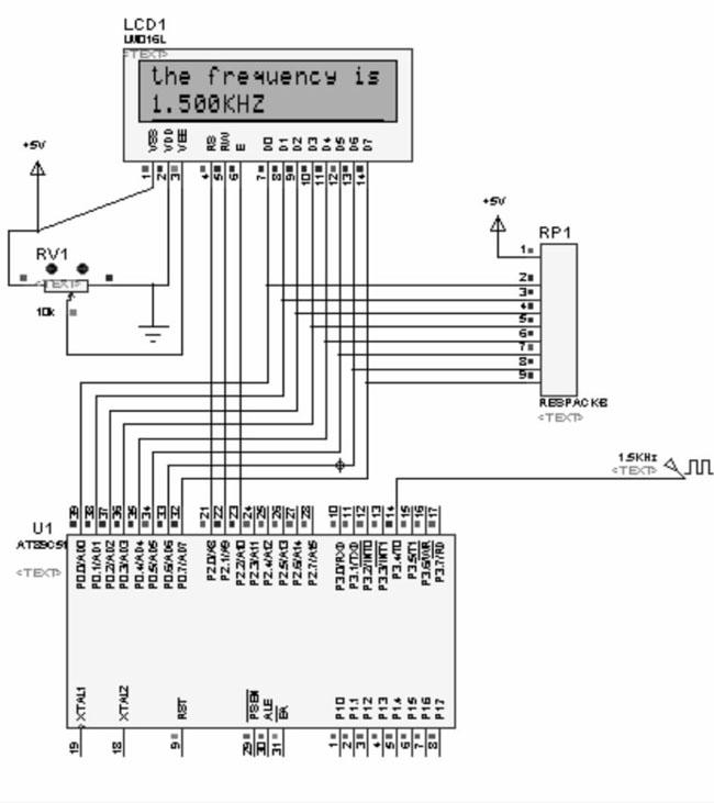 基于单片机的数字频率计设计