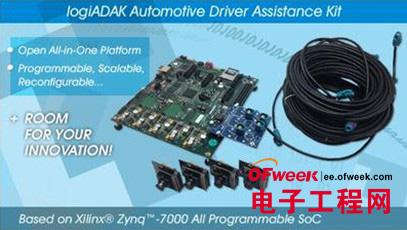 Xilinx和Xylon推出logiADAK汽车驾驶员辅助套件