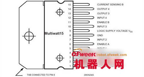 5.1用l298n制作电机驱动电路