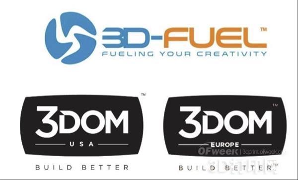 3D-Fuel、3Dom USA以及3Dom Europe强强联手 成立新公司3DomFuel
