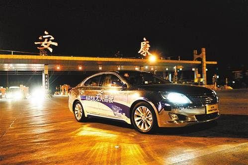 无人驾驶汽车自动超车变道和调头