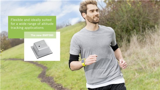 博世在2017 CES 推出尺寸最小的高性能气压传感器