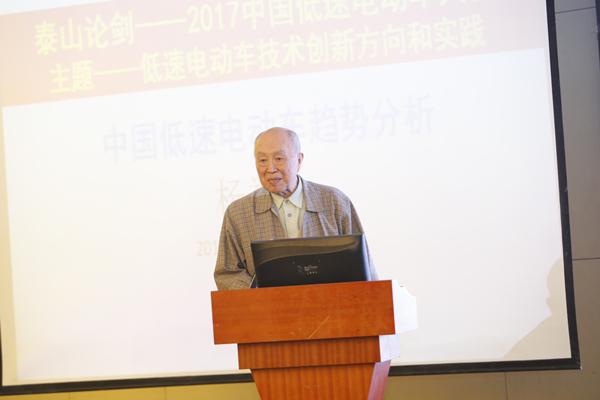 杨裕生:低速电动车生命力旺盛,铅酸电池能够克服缺点