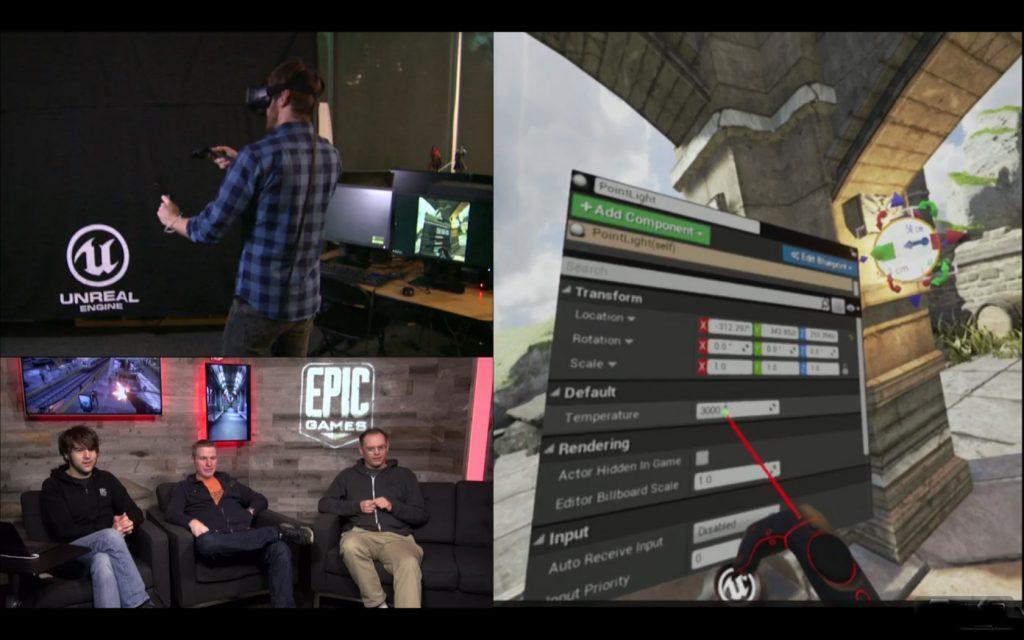 详解UE4游戏引擎新模式:在VR中创作VR游戏