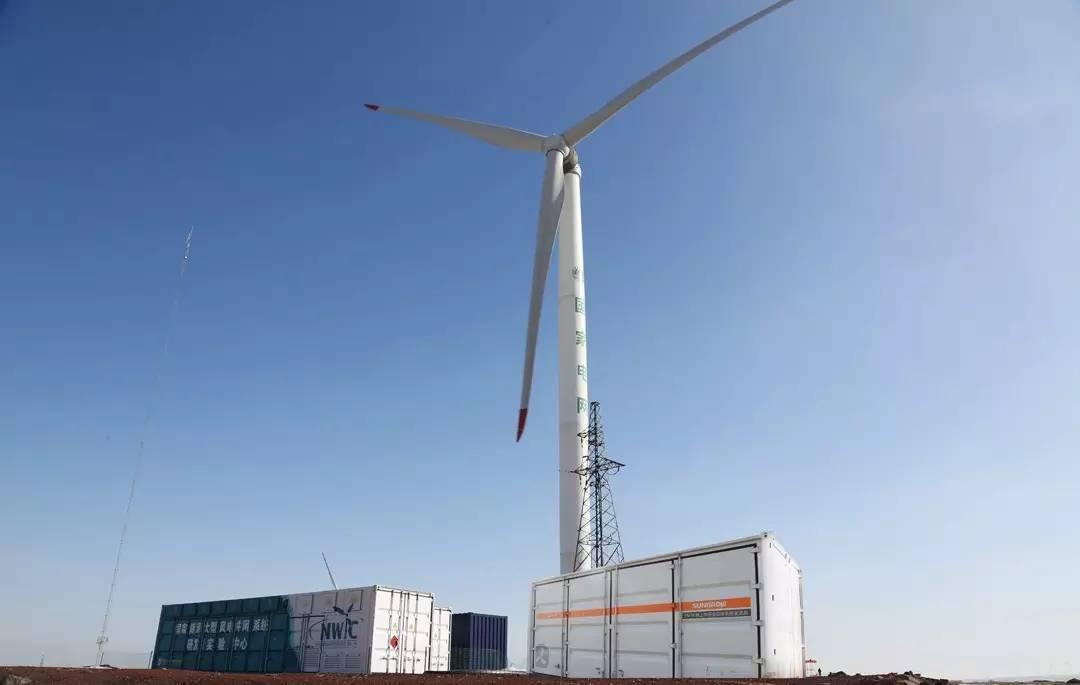 阳光电源5MW中压海上风能变流器首家通过电网适应性认证测试