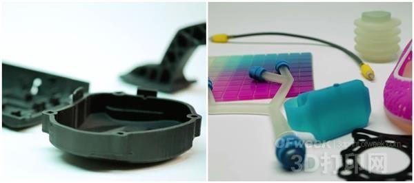 Stratasys推出2种新新型3D打印材料:FDM Nylon 12CF和Agilus30