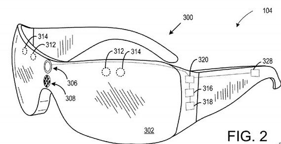 微软AR专利:可提供视场外对象的增强现实信息