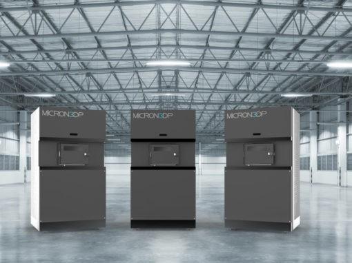 Micron3DP完成开创性玻璃3D打印机的内部安装