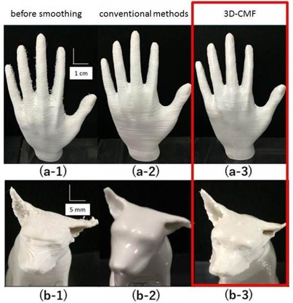 科学家开发出处理3D打印产品表面纹理的3D-CMF技术