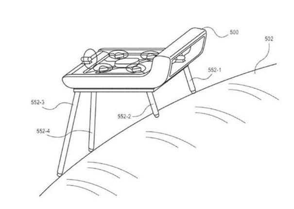 亚马逊无人机专利再曝光,可根据地形自动调整脚架高度