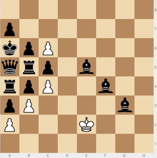 这个棋局人工智能无能为力,你来试试?