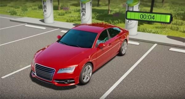 新技术让电动汽车5分钟内续航300英里