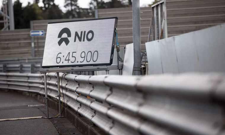 破纽北8年记录 蔚来EP9完爆烧油和混合动力超跑