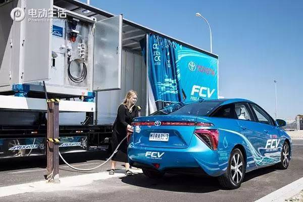 水不用电解就分解氢气 燃料车将迎来春天