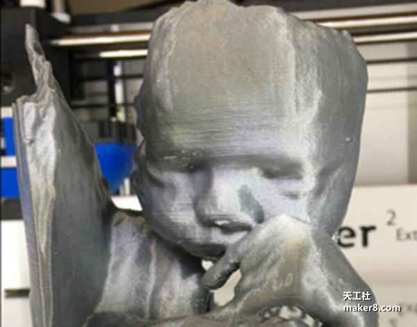 Sirbonu Oü提供新服务,将胎儿B超图变成3D打印雕塑