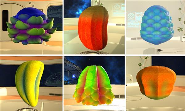 未来水果模拟器:一个有趣的食品3D打印定制界面