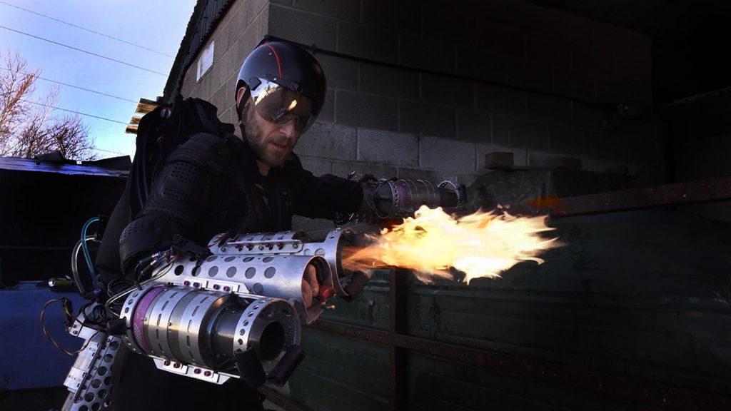 3D打印新一代钢铁侠飞行套装