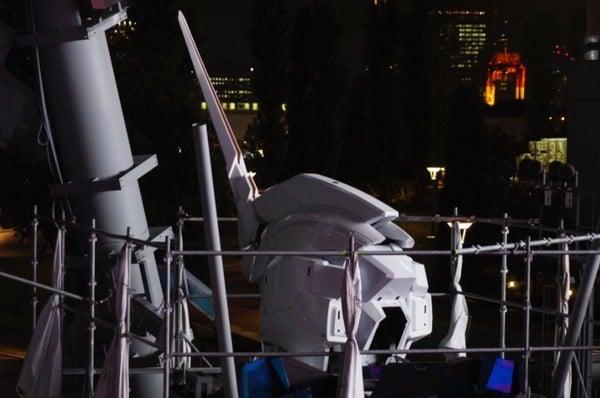 """东京台场24公尺巨型钢弹新登场!独角可变形成""""V字天线"""""""