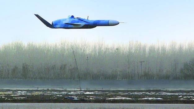 美媒:中国研制掠海无人机可打爆航母 造型梦幻