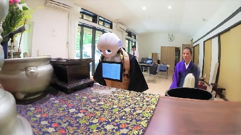 喪禮也要科技化!日本推出機器人法師幫忙念經