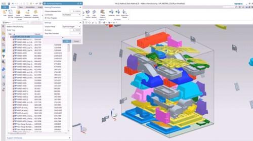 惠普将西门子NX集成到多喷射熔融3D打印机中
