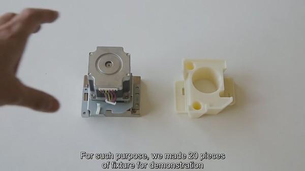 理光用3D打印的高强度ABS夹具代替金属工具