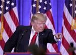 特朗普承认黑客干预选举 将组建网络安全企业家团队