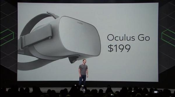 入门级Oculus独立型VR明年面市