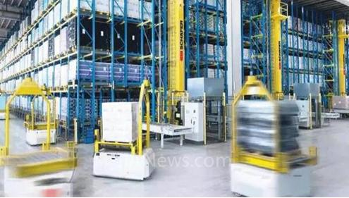 AGV机器人最具应用前景的几种引导技术