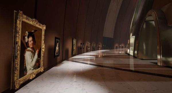 这个新建的克雷默博物馆 只在VR中单独存在