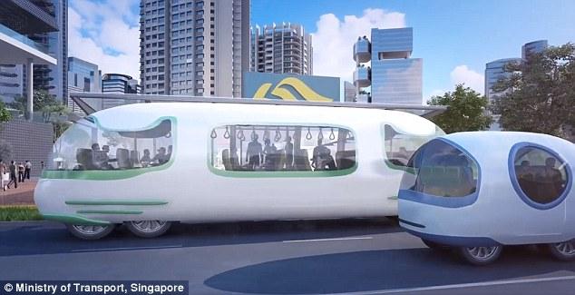 不只深圳、中国台湾有无人巴士 全球早悄悄开跑