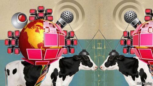 奶牛联网、玉米地联网...物联网未来应用超乎你想像