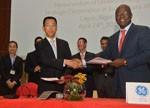 """中国电建与GE携手深入沿线非洲国家 推动落实""""一带一路""""战略机遇"""