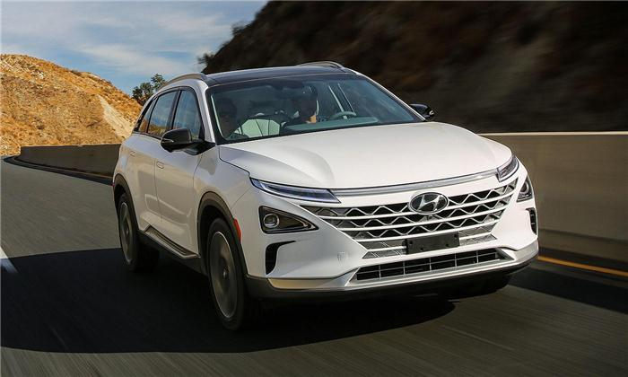 现代新一代燃料电池车NEXO亮相CES 续航提升30%