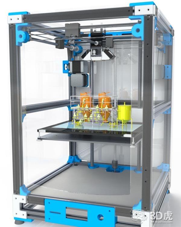 研究员开发出可在家制药的3D打印互连反应器