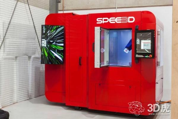 亚洲第一台SPEE3D冷喷涂金属3D打印机落户新加坡
