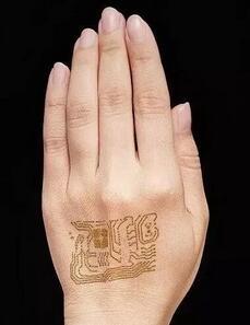 透气可穿戴皮肤传感器 未来用于长期的健康监测