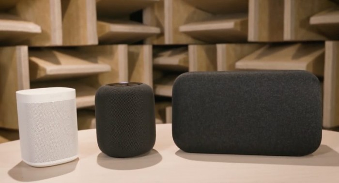 《消费者报告》:Google Home Max及Sonos One音质好于HomePod