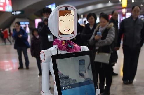 一大波机器人在全国各大站点集结