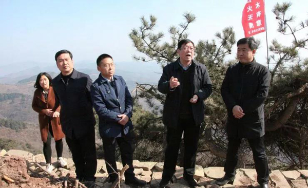 长子县人大督导风电项目水土保持与植被恢复工程进展情况