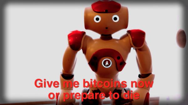 机器人存安全漏洞:向顾客索取比特币
