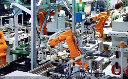 盘点:工业机器人在手机产业中的应用