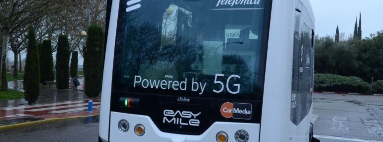 西班牙电信携爱立信演示同步5G驾驶和流媒体