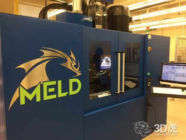 MELD Manufacturing Corporation推出第一款不熔融的金属3D打印机
