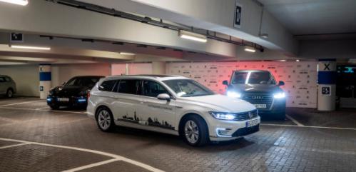 大众测试自动泊车 将在2020年配置该技术