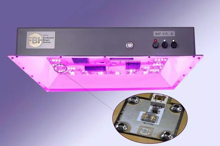 德国研究所展示最新UV LED 可靠性进一步提升