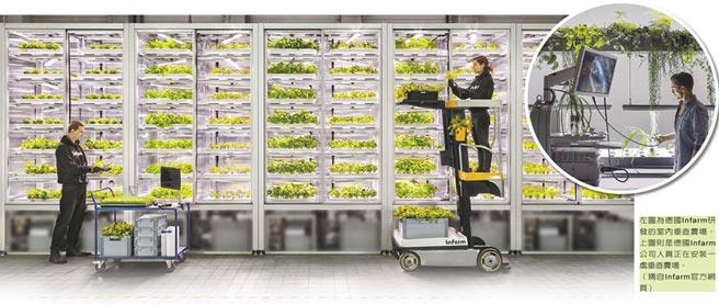 粮食需求渐大 LED照明助力垂直农场发展