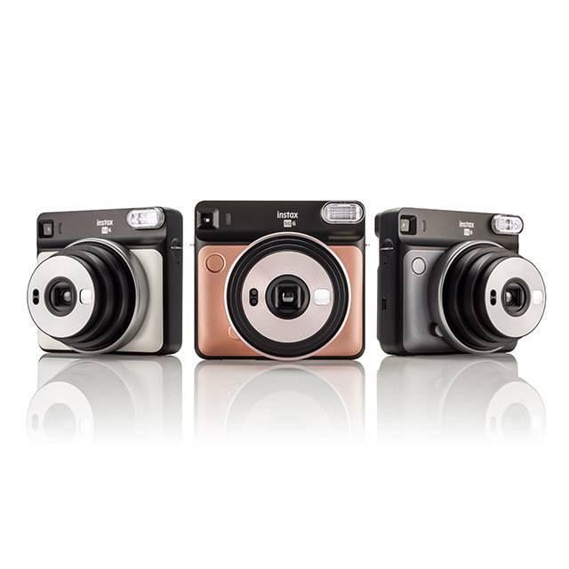 售价 130 美元,富士发布新款方形拍立得 Instax SQ6 相机