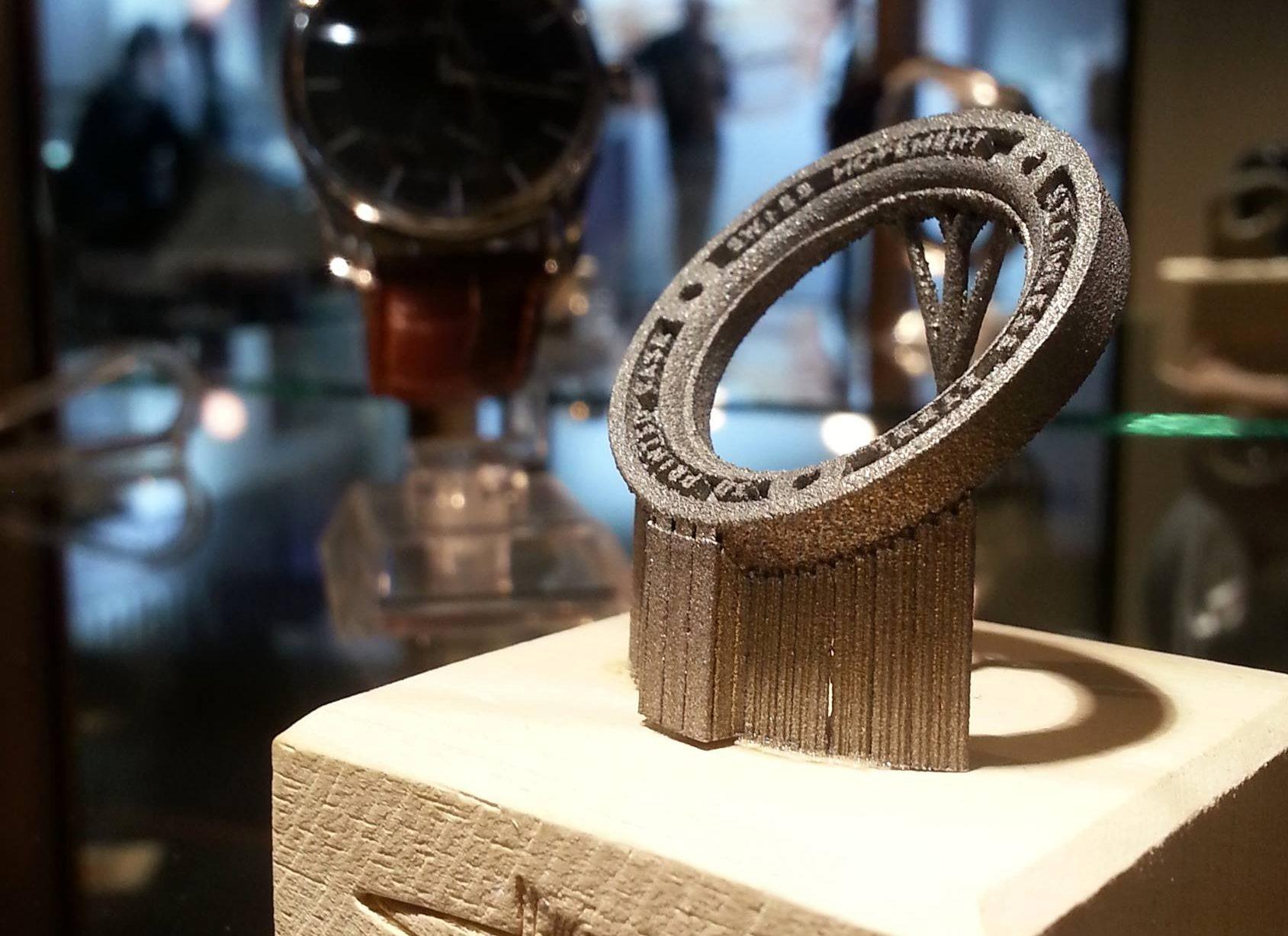 Cooksongold为3D打印手表提供18K 5N红金粉