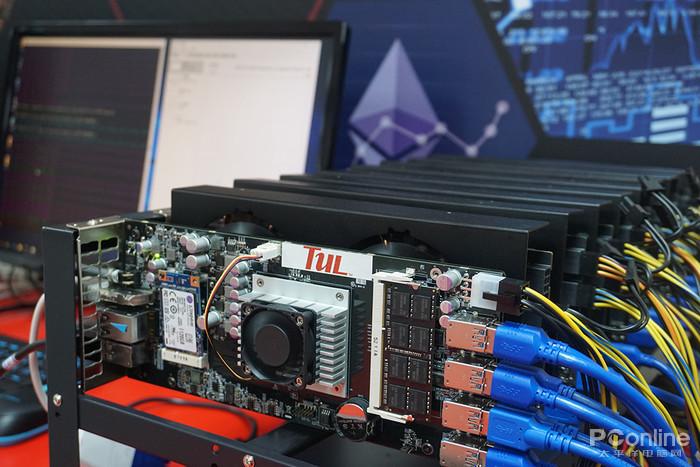 台北国际电脑展 迪兰新矿机发布